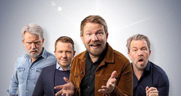 Sóli Hólm er eins og þurrkari sem þarf að tappa af