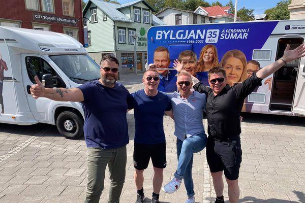 Sumarferðalag Bylgjunnar - Friðrik og Jógvan búnir með 7 tónleika af 27