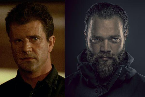 Mel Gibson kom Jóhannesi Hauki inn í leiklistarskóla