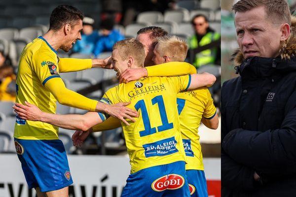 Fótbolti.net - Atli Viðar og Pepsi Max