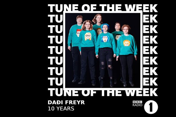 Daði Freyr með lag vikunnar á BBC Radio 1