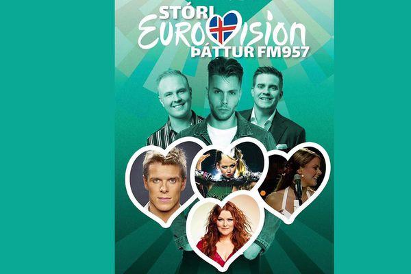 Stóri Eurovision þáttur FM957