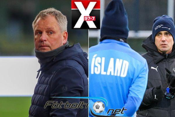 Fótbolti.net - Óskar Hrafn og Arnar Viðars