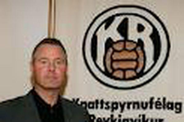 Kristinn Kjærnested, formaður knd. KR