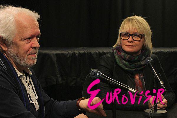 Eurovísir - Sigga Beinteins og Þorgeir Ástvaldsson
