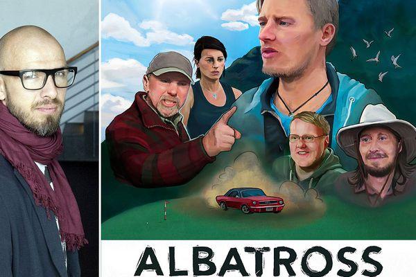 Sverrir Bergmann syngur titillag kvikmyndarinnar Albatross