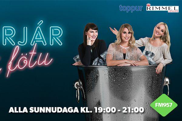 Þrjár í fötu - Stelpurnar með Rauða Torgs auglýsingar
